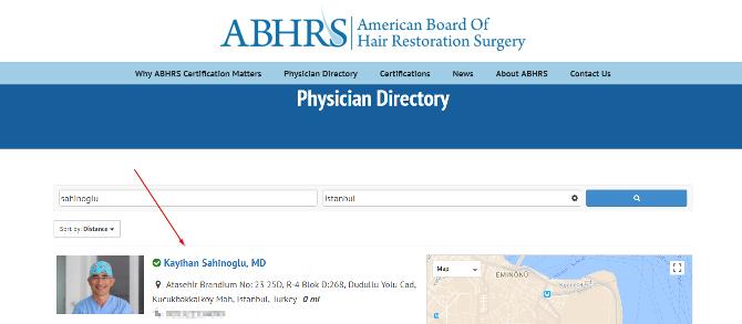 ABHRS Profil Dr. Sahinoglu