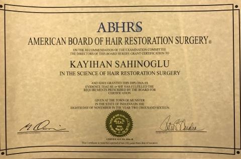 ABHRS Zertifikat