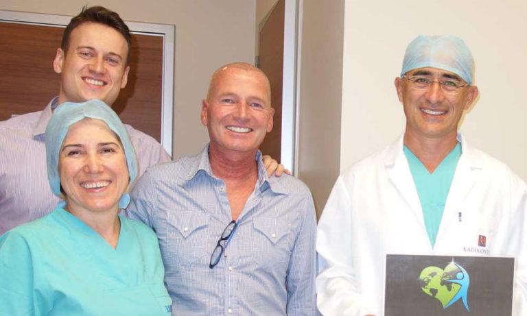 Dr. Kayihan Sahinoglu - nur 1 Patient pro Tag